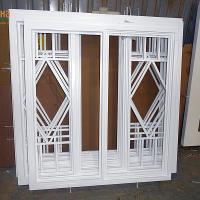 Деревянное окно ОД ОСП 1500 х 2100 ПлПп двухстворчатое ОД ОСП 1470 х 2070 мм, Створки: поворотная левая, поворотная правая