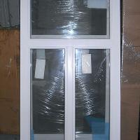 Деревянное окно ОД ОСП 1200 х 1350 ГОпГ трехстворчатое ОД ОСП 1170 х 1320 мм, Створки: глухая, поворотно-откидная правая, глухая