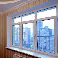 Пластиковое окно Grunder 800 х 500 мм одностворчатое. Пластиковое окно из профиля Grunder шириной 500 и высотой 800 мм.