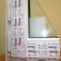 Пластиковое окно Grunder 1300 х 500 мм одностворчатое. Пластиковое окно из профиля Grunder шириной 500 и высотой 1300 мм.