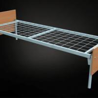 Трехъярусные металлические кровати со сварной сеткой Кровати из металла