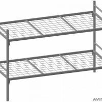 Одноярусные металлические двуспальные кровати, кровати дешево Одноярусные кровати