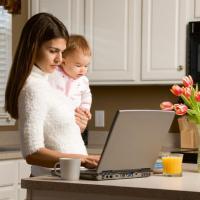 Работа для будущих и настоящих мам, бабушек Подработка, совмещение, работа в декрете, на пенсии