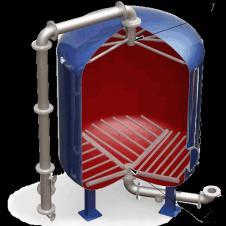 Дренажные системы (ДРУ) щелевого типа для фильтров ФИПа, ФОВ, ФСУ Луч, НРУ, дренажное устройство, фильтр