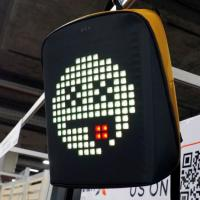 Рюкзак Pix, с гарантией один год на LED-экран! LED-экран, чёрный. на itebe.ru [2]