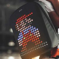 Рюкзак Pix, с гарантией один год на LED-экран! LED-экран, чёрный. на itebe.ru [3]
