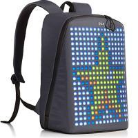 Рюкзак Pix, с гарантией один год на LED-экран! LED-экран, чёрный.