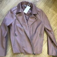 Куртка из экокожи ZARINA