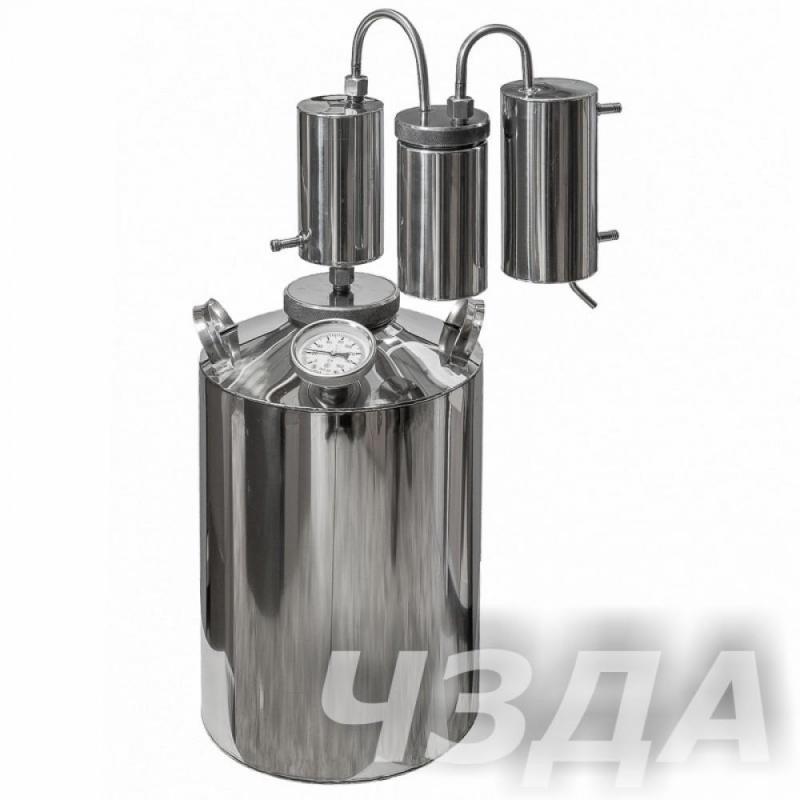 """Самогонный аппарат """"Горилыч"""" Абрамова 12 литров, разборный сухопарник."""