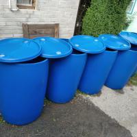 Продам пластиковые бочки 227 литров
