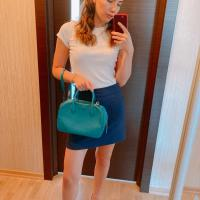 Сумка гучи Голубая сумка, оригинал