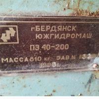 Насос питательный ПЭ 40-200 ПЭ 40-200, мощность 55, 820 кг на itebe.ru [3]