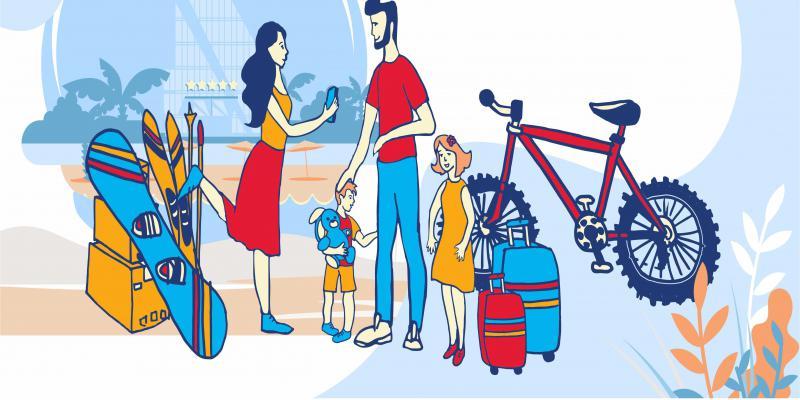 Сервис доставит багаж по России и СНГ Вовремя, с гарантией