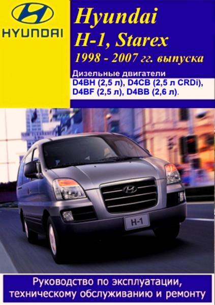 ЭЛЕКТРОННАЯ КНИГА ПО РЕМОНТУ АВТОМОБИЛЯ Hyundai H-1