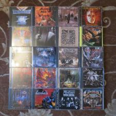 Фирменные CD rock heavy-metal, thrash, progressive Компакт-диски