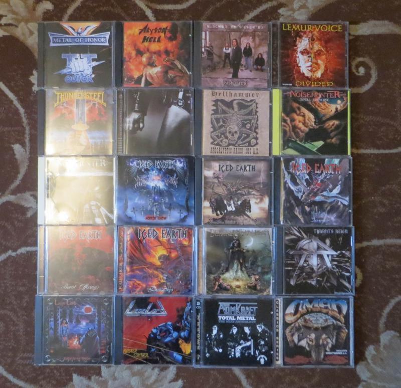 Фирменные CD rock heavy-metal, thrash, progressive