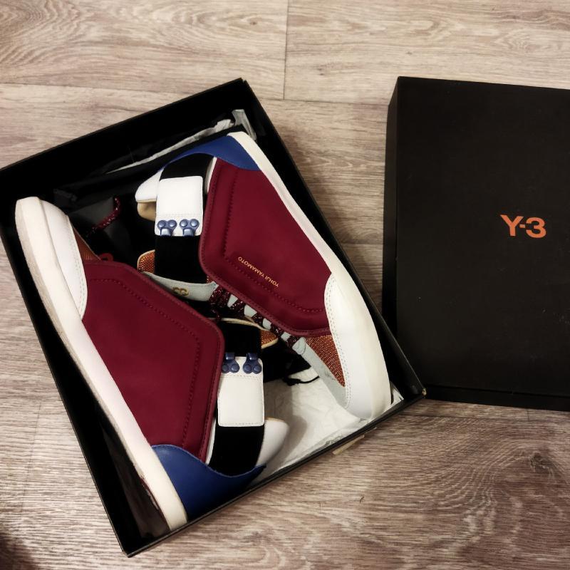 Оригинальные кроссовки Adidas Y-3 созданные Yohj