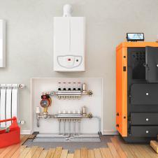 Монтаж котлов, водонагревателей Отопление, наладка